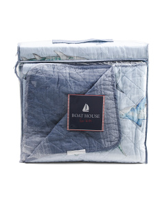 Water Sharks Quilt Set