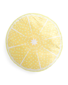 Lemon Oversized Pillow
