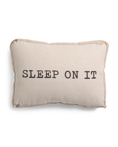 Made In India 14x20 Sleep On It Pillow