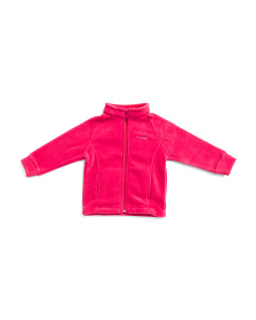 Infant Girls Ranch Zip Up Fleece Jacket