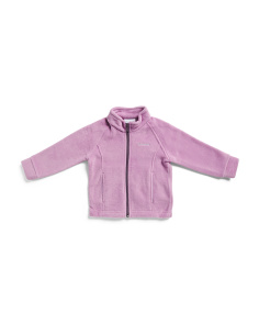 Toddler Girls Berry Ranch Zip Up Fleece Jacket