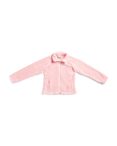 Girls Berrey Ranch Zip Up Fleece Jacket