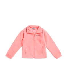 Girls Berrey Ranch Zip Up Fleece
