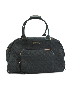 Quilted Rolling Duffel