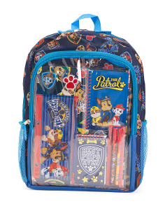Backpack With Stationery Set