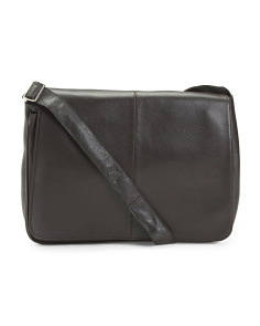 Yellowstone Leather Laptop Messenger
