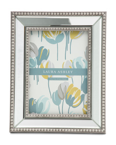 5x7 Beaded Mirrored Photo Frame