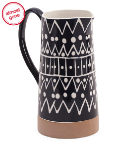 Aztec Graphic Pitcher