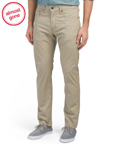 502 Regular Stretch Chinos