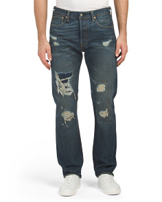 501 Original Fit Blue Oxidation Jeans