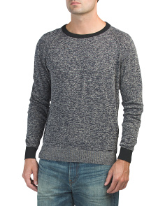 K  Collins Linen Blend Sweater