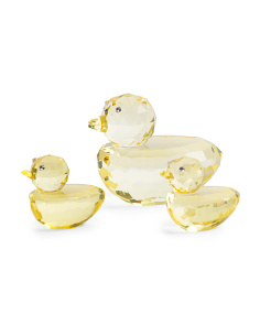 3pc Crystal Ducks