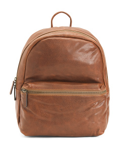 Leather Dylan Backpack