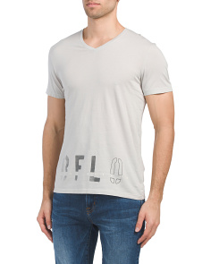 Tidern Short Sleeve V-neck T-shirt
