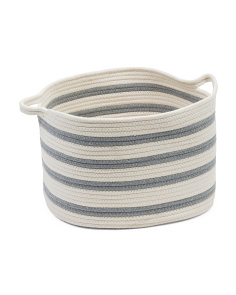 Medium Cotton Rope Basket