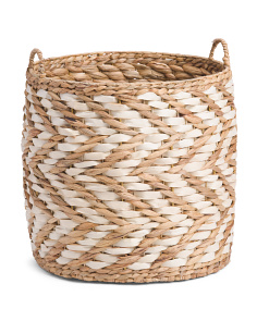Large Natural Weave Storage Basket
