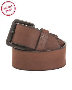 Rugged Leather Belt