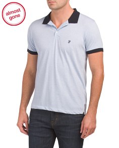 Contrast Color Polo