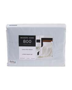 4pc 800tc Soft Sheet Set