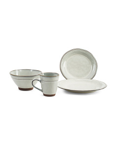 16pc Cyprus Dinnerware Set