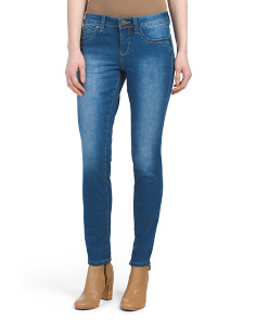 Booty Enhancing Skinny Ankle Jeans
