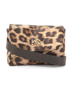 Donna Leopard Fanny Pack