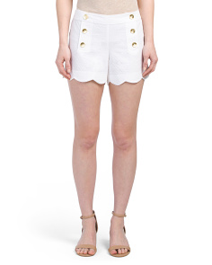 Nautical Scallop Shorts