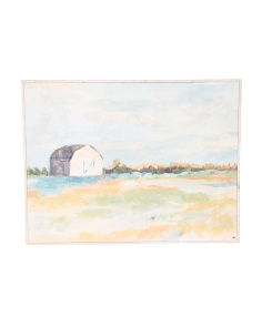 30x40 Farmhouse Barn Canvas Wall Art