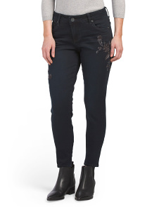Donna Skinny Ankle Jeans
