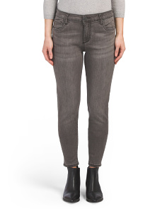 Donna High Rise Ankle Skinny Jeans