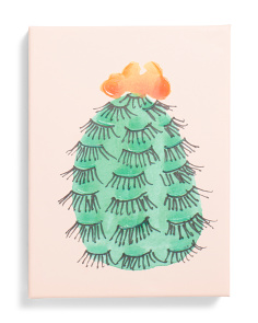 12x16 Eyelash Cactus I Paper Wall Art