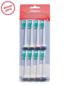 8pk Replacement Toothbrush Heads