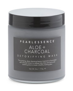Aloe Charcoal Clay Face Mask