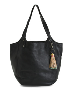 Tansy Leather Tote