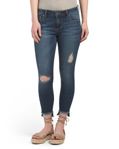 Petite Connie Skinny Ankle Jeans