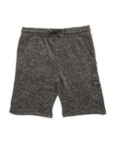 Big Boys Marled Sweater Fleece Short