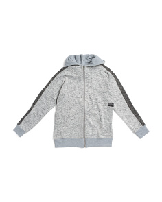 Big Boys Side Stripe Sweater Hoodie