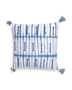 Made In India 22x22 Shibori Pillow