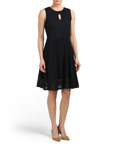 Cheerios Lace Knot Front Dress