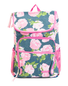 Girls Rock Rose Backpack