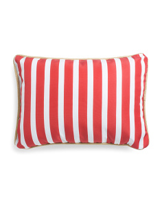 14x20 Indoor Outdoor Stripe Pillow