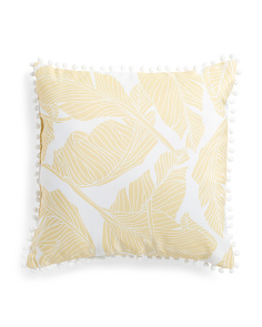 20x20 Indoor Outdoor Banana Leaf Pillow