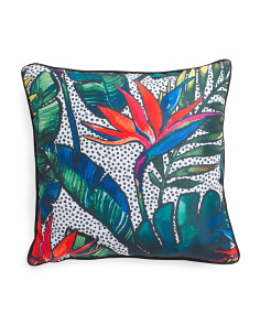 20x20 Indoor Outdoor Tropical Pillow