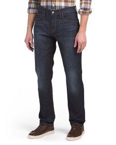 Tapered Straight Leg Jeans