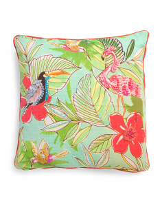 Made In India 20x20 Reversible Foliage Pillow