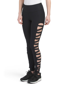 Cut Out Side Leggings