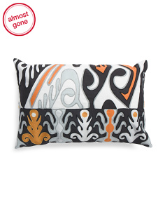 Made India 13x21 Indoor Outdoor Pattern Pillow