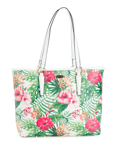 Palm Paradise Tote
