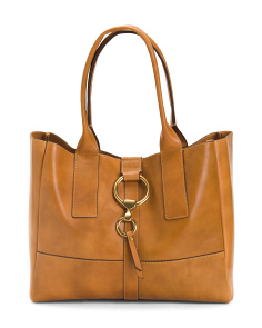 Leather Ilana Harness Tote