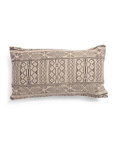 Made In India 14x26 African Mudcloth Pillow